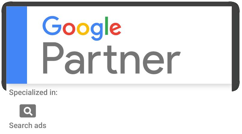 Google Search Partner badge
